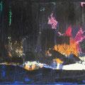 Horizont I Acryl/Graphit auf Leinwand • 50x120cm