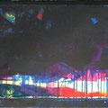 Horizont II Acryl/Graphit auf Leinwand • 50x120cm