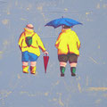 Regentag Acryl auf Leinwand • 30x40 cm