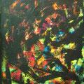 col tec Neon Acryl auf Leinwand • 60x50cm