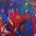 Mein wollüstiger Garten•Trauben Acryl auf Leinwand • 100x140cm