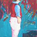 Venezianer Acryl auf Leinwand • 74x45 cm