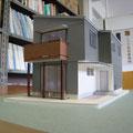 住宅 完成模型