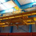 多点吊り型枠自動搬送クレーン