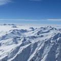 Blick Richtung Südwesten zur Weissseespitze