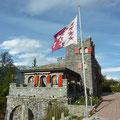 Castell Coline de Daval - ungewöhnlicher Ausgangspunkt für die Pointe de Vouasson