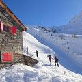 Viele Italiener am Berg unterwegs - nicht sicht- aber hörbar.