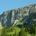 Der Gantschijn oberhalb von Gwüest