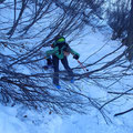 Manchmal müssen auch Skitüüreler unten durch!