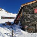 Die Bortelhütten des Skiclubs Simplon Brig