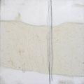 Öl, Grafit auf Leinwand, 40 x 40 cm