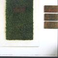 Es wächst schon Gras drüber, Holz, Kunststoffrasen, Tafeln (Mutter,Vater, Du, Ich) auswechselbar