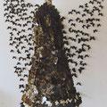 Allerseelen, Brautkleider, Schmetterlinge-beschriftet auf Torso genäht