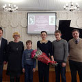 in Glinka Musical School, with Alexander Zui and Liudmila Filippova on the left (great-grandson and great-granddaughter of Alexey Stanchinsky), the sons of Alexander Zui (around), Igor Prokhorov (right)