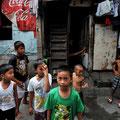 マニラ貧困地区に暮らす子どもたち(2011.03)