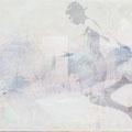 wolke 3, 2012, Décalcage on wood, 130 cm x 205 cm >original available