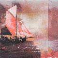 wider der zeit, 2013, Décalcage on wood, 85 cm x 138 cm >original available