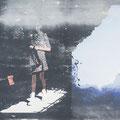 schemen1, 2013, Décalcage on MDF, 132 cm x 174 cm  >original available