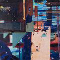q30, 2008, Décalcage on wood, 130 cm x 130 cm >original available