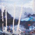 finde meine worte wieder, 2013, Décalcage on wood, 85 cm x 138 cm