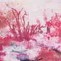 in der stille bleib ich mein, 2013, Décalcage on wood, 85 cm x 138 cm >original available