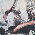 funkloch1, 2013, Décalcage on MDF, 110 cm x 207 cm  >original available