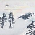 funkloch2, 2013, Décalcage on MDF, 110 cm x 129 cm  >original available