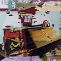 q17, 2008, Décalcage on wood, 130 cm x 130 cm >original available