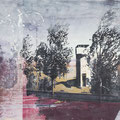 nostalghia3, 2013, Décalcage on MDF, 132 cm x 199 cm  >original available