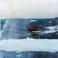 Décalcage on wood, 50 cm x 50 cm  >original available