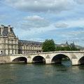 Seine mit Louvre