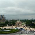 Blick aus dem Louvre