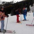 Skieurs et raquetteurs se retrouvent