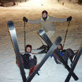 SKI EN NOCTURNE ...ON S'ÉCLATE !!!
