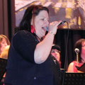 unsere Solistin Sabine Fengel