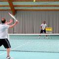 Tennis lernen, Privatunterricht mit Tennistrainer