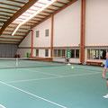 Hallenplätze im Tenniscenter Weil