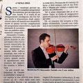 """Recensione su """"La Gazzetta del Mezzogiorno"""" del 12.07.2016 a firma del Dott. Nicola Sbisà"""