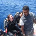 Worüber haben wir da gelacht? Keine Ahnung... mit Abdo gibt es halt immer was zu lachen.