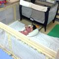 乳児用保育スペース