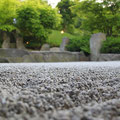 Japanischer Garten - Steinmuster