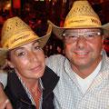 Ines und ich im Disneyland, September 2008