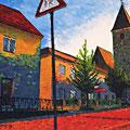 Pergkirchen - Martinskirche und Kirchenwirt