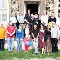 2014 Gruppenfoto bei den Tagen der Ägyptologie im koptischen Kloster Brenkhausen