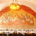 Gemälde im Speisesaal des koptischen Klosters in Brenkhausen
