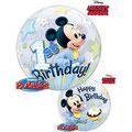 Balon roczek bubbles myszka miki