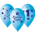 balon mam już roczek niebieski