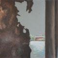 Rost und Meer I, 50 x 70 cm