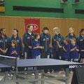 Selbstverständlich waren auch die Kids von 3B Berlin Tischtennis dabei, die ihre eigene Mannschaft begleiteten
