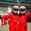 selbst fahrt im Formel Wagen auf dem Nürburgring